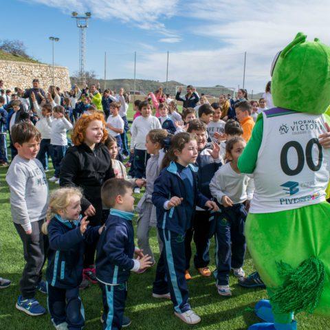 Celebrado el 8º Encuentro deportivo de Escuelas Rurales