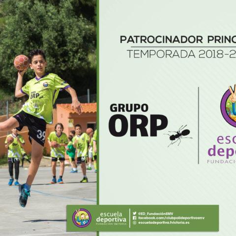Grupo ORP seguirá siendo nuestro principal patrocinador la próxima temporada