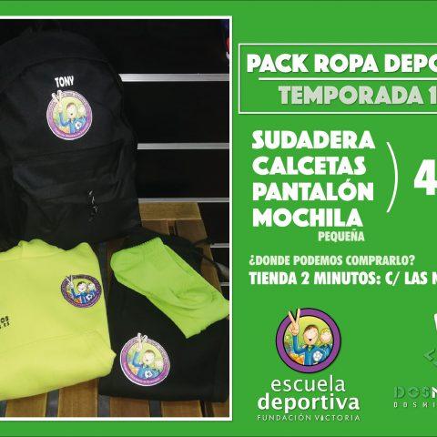 ¡Ya están disponibles los Packs Deportivos de esta temporada!