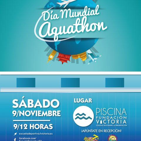 Día Mundial del Aquathon en la Piscina Fundación Victoria