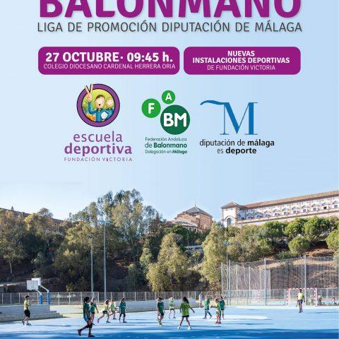 La Escuela Deportiva Fundación Victoria acoge la primera edición de la Liga de Promoción de Balonmano de esta temporada