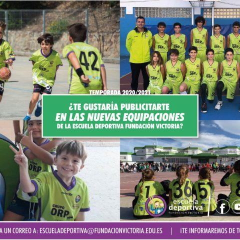 ¡Patrocina la Escuela Deportiva Fundación Victoria!