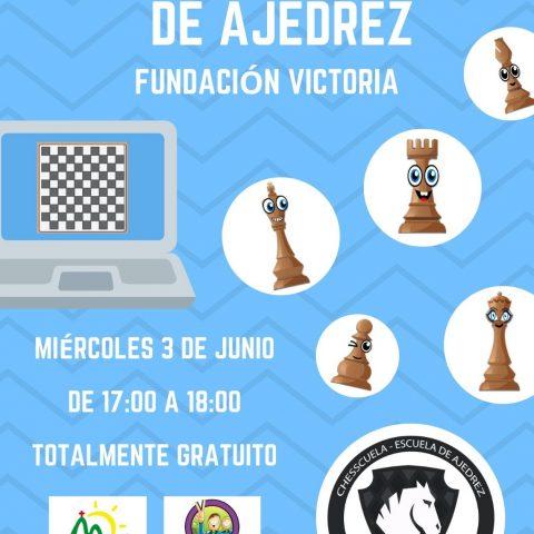 ¡Participa en el 1º Torneo Online de Ajedrez de Fundación Victoria!