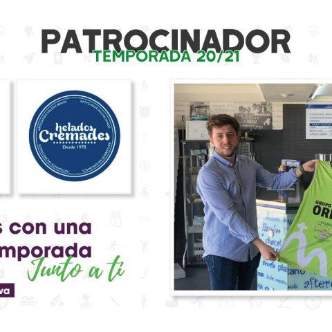 Helados Cremades, nuevo patrocinador de la Escuela Deportiva