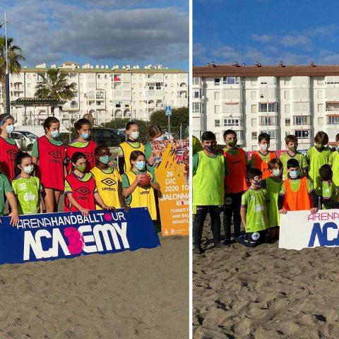 La Escuela Deportiva participa en la jornada de Mini-Balonmano Playa