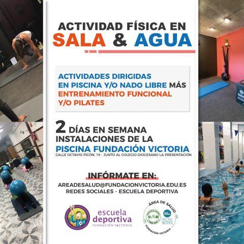 Nueva oferta del Área de Salud para nuestra Sala Fitness y Piscina