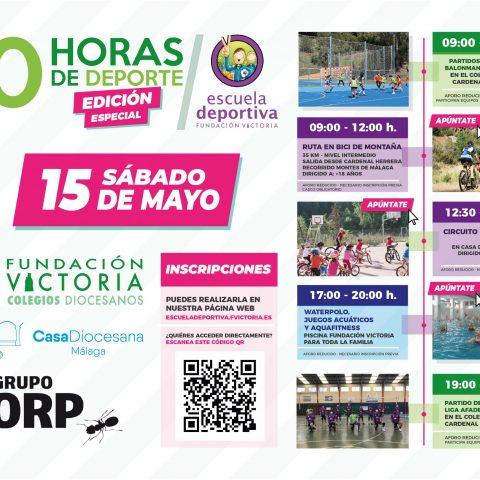 ¡Llega la edición especial de las 10 horas de deporte de Fundación Victoria!