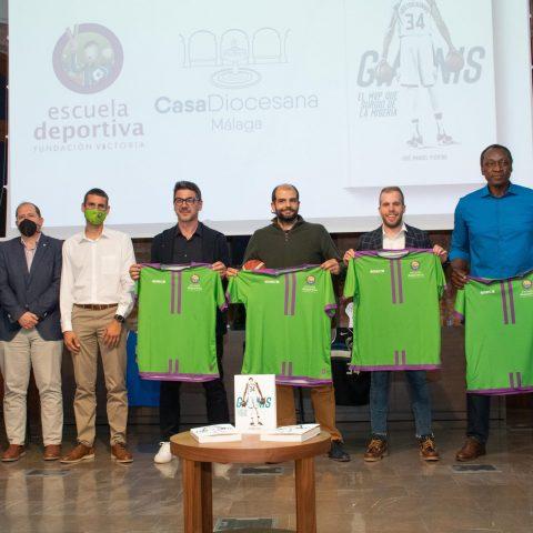 La Escuela Deportiva Fundación Victoria, organiza la presentación del libro sobre Antetokounmpo en Málaga